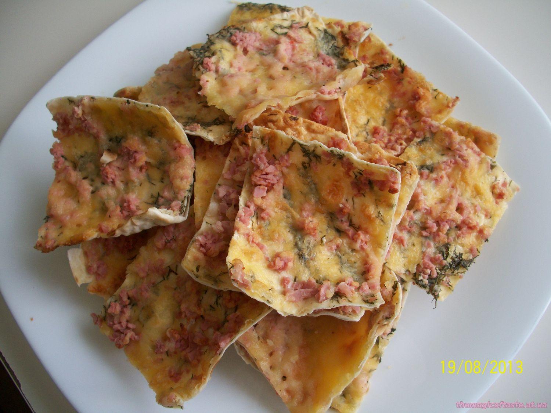 Блюда из лаваша тонкогоы на сковороде