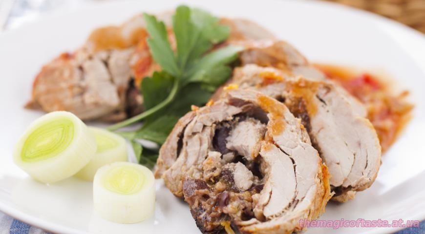 Филе свинины рецепт пошагово